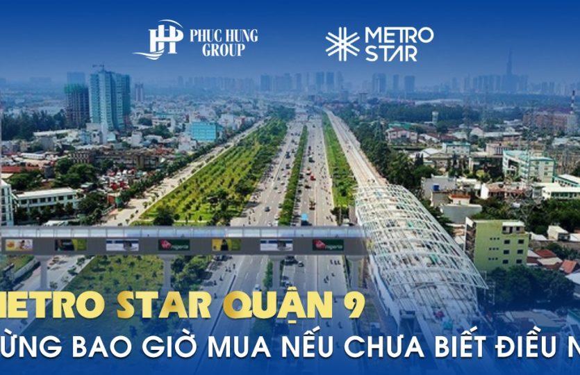 Vị trí căn hộ Metro Star quận 9