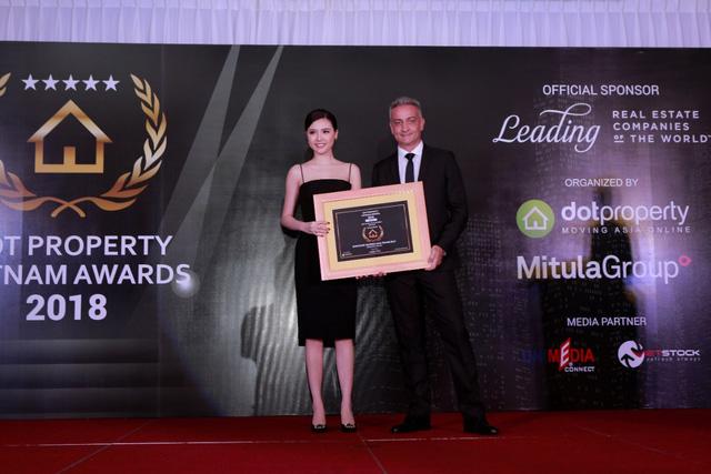 Sunshine Marina Nha Trang Bay nhận giải thưởng Công trình mang tính biểu tượng Việt Nam 2018 – Best Iconic Development