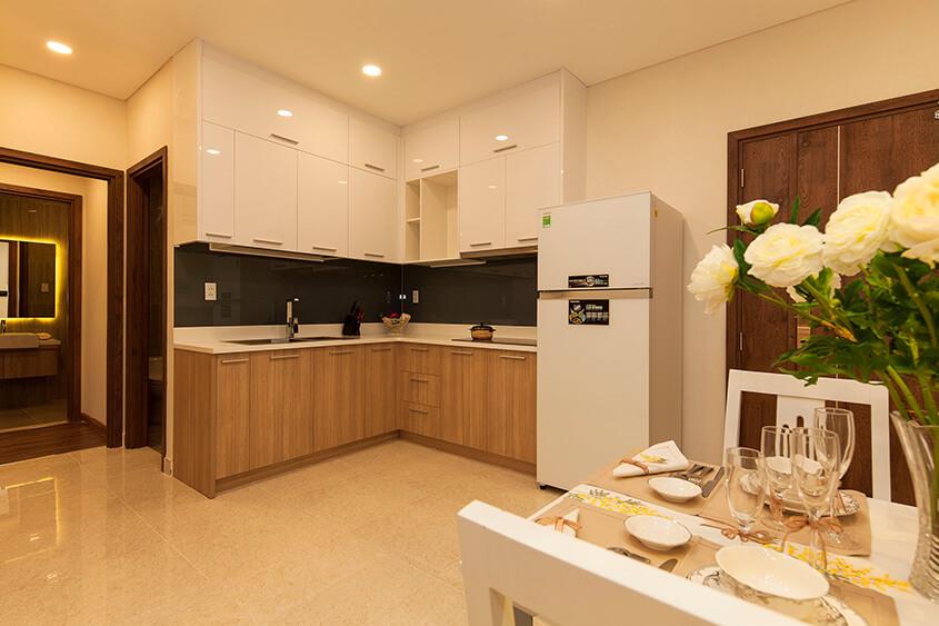 Thiết kế Phòng bếp dự kiến tại Metro Star