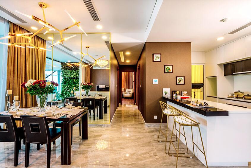 Thiết kế Phòng khách dự kiến tại Metro Star