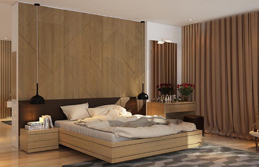 Phòng ngủ căn hộ D-Vela