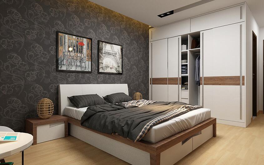 Thiết kế Phòng ngủ dự kiến tại Metro Star
