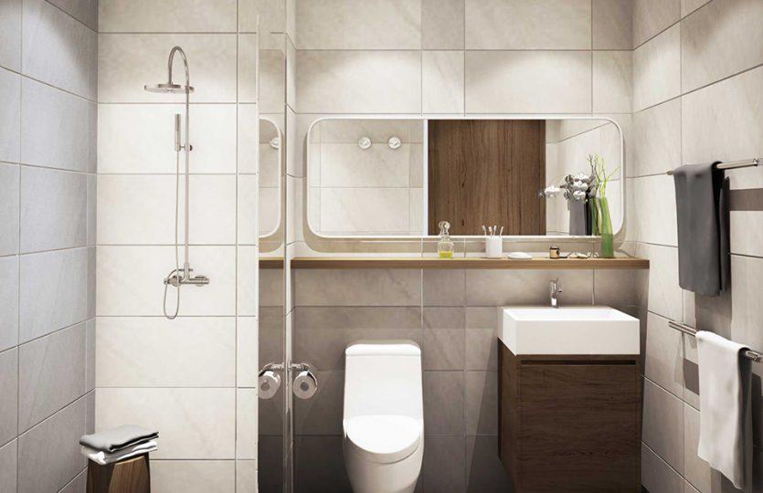 Phòng tắm căn hộ D-Vela