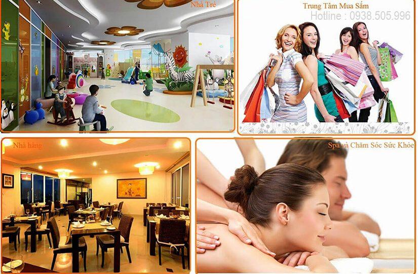 Tiện ích tại căn hộ Sunshine City Saigon