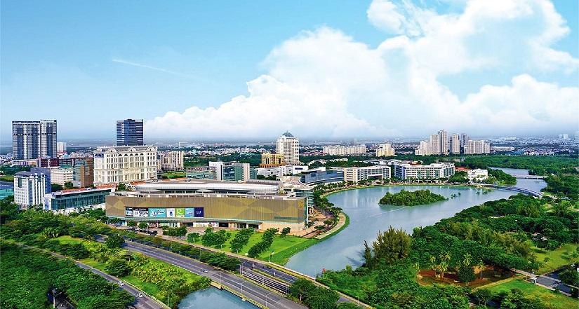 Cảnh quan dự án Eco Green Saigon