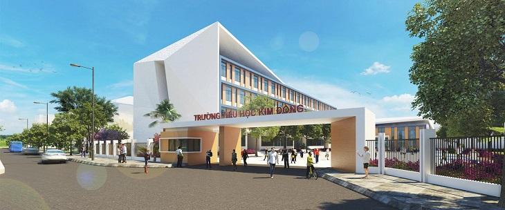 Trường học cho cư dân nhí tại Eco Green Quận 7